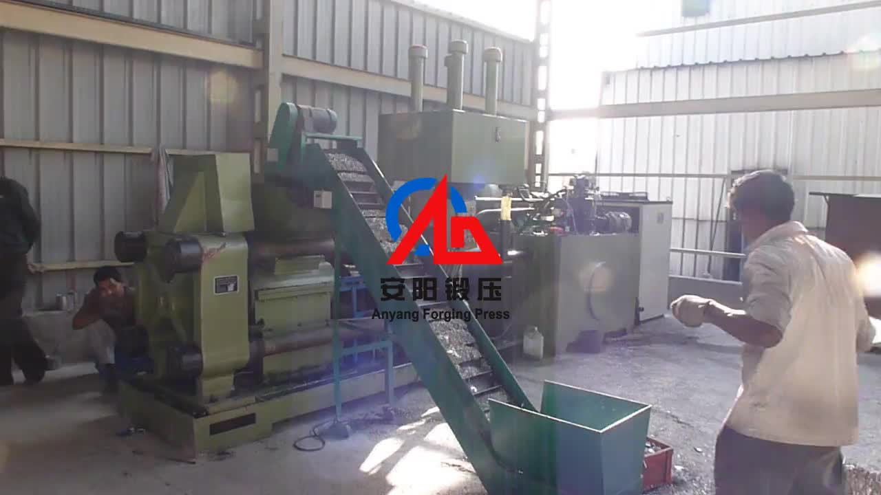 Y83-160 Metal Chips Briquetting Machine for iron, steel, aluminum, copper etc scrap