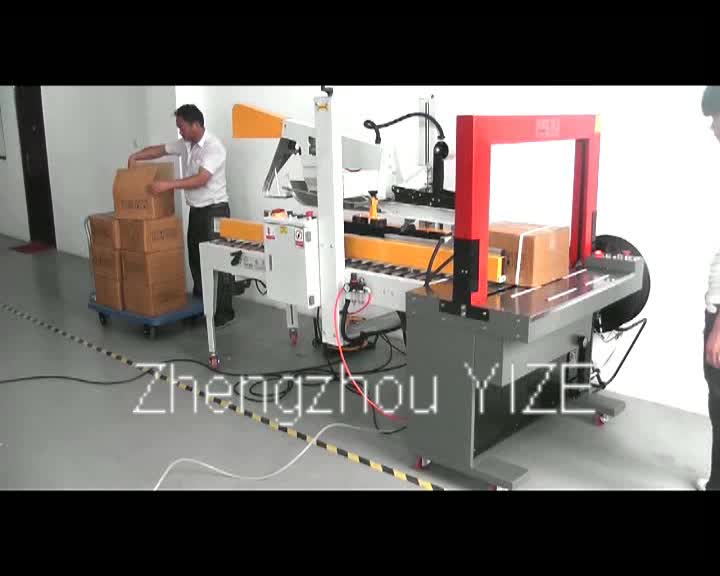 Professionelle Klappen Faltschachteln Karton Versiegelung Karton Verpackungsmaschine
