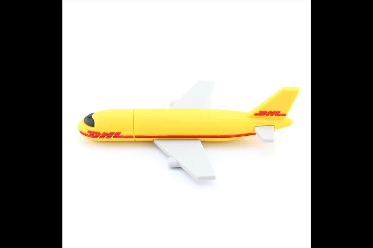 2018 oem customized usb flash drive 32gb dhl plane shaped. Black Bedroom Furniture Sets. Home Design Ideas