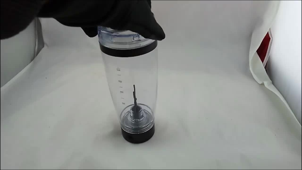 Free Sample 2019 Protein Shaker Cup Vortex Mixer Cup with Rechargeable USB