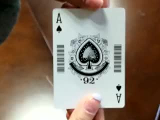Custom design playing cards with your own logo YH1001