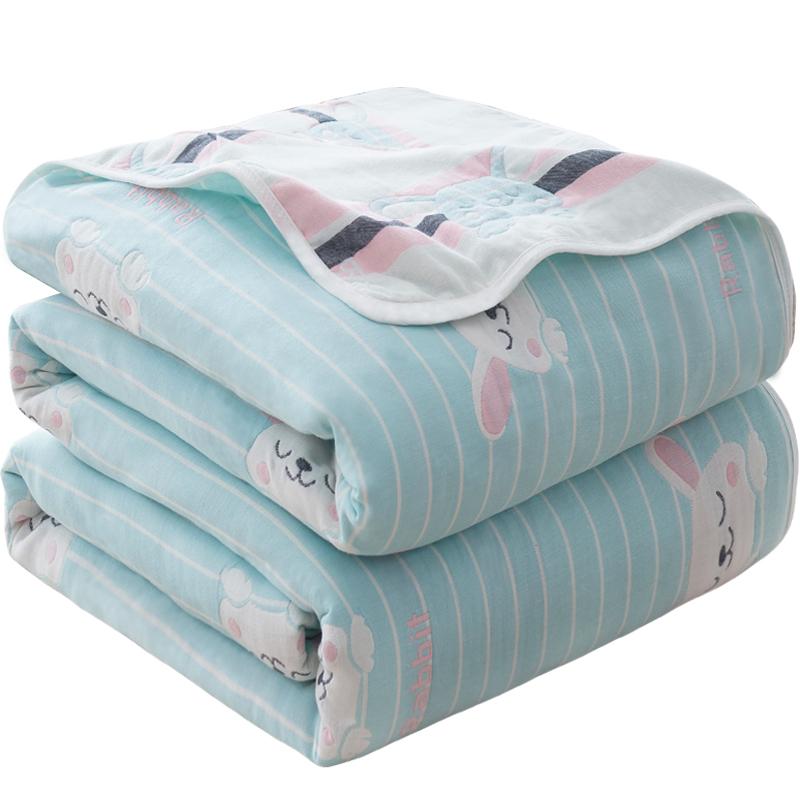 纱布纯棉全棉毯单人婴儿儿童毛巾被质量好不好