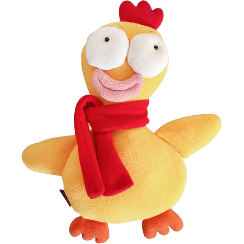 丑萌沙雕开学愚人生日鸡可爱送公仔评价如何?