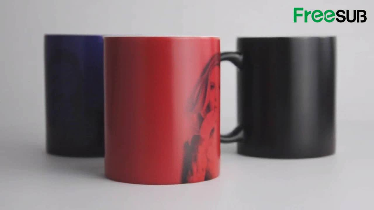 Sunmeta sublimation color changing mug magic mug wholesale prices SKB-05H