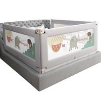 兔贝乐床围栏宝宝儿童防摔床上挡板婴儿防掉大床边栏杆通用床护栏