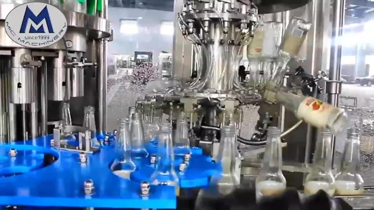 MIC 12-1 small scale Brewer best choice beer can bottling machine / wine bottling machine in Australia