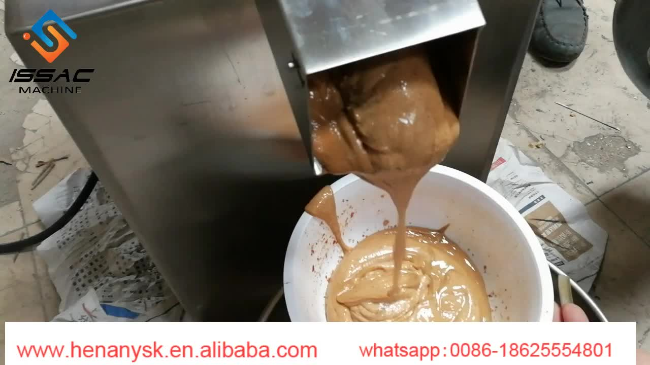 Commercial Industrial Small Lab Chemical Almond Nut Sesame Cocoa Peanut  Butter Making Machine Walnut Jelly Colloid Mill
