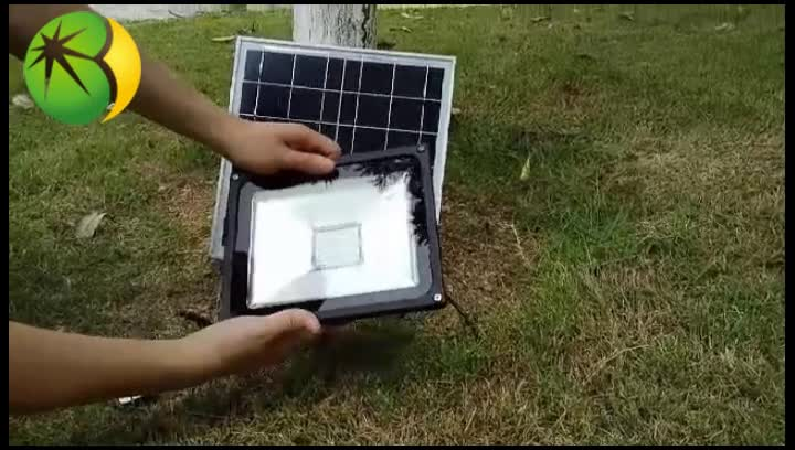 Wholesale complete off grid waterproof rechargeable green energy led solar flood light