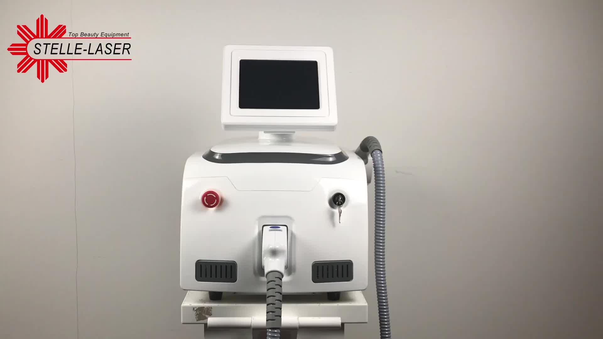 IPL Laser Beauty Equipment / Tragbare Elight IPL + IP / IPL Haarentfernung