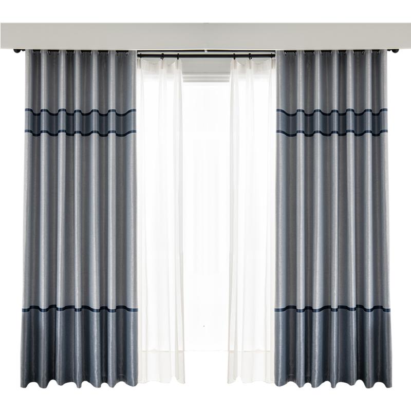 2021年新款卧室客厅全遮光布窗帘质量如何