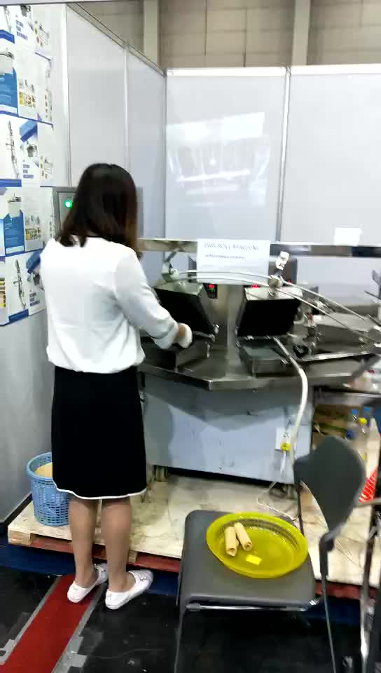 Semprongクラッカー機kue semprongプレートmesin wafflleメーカー