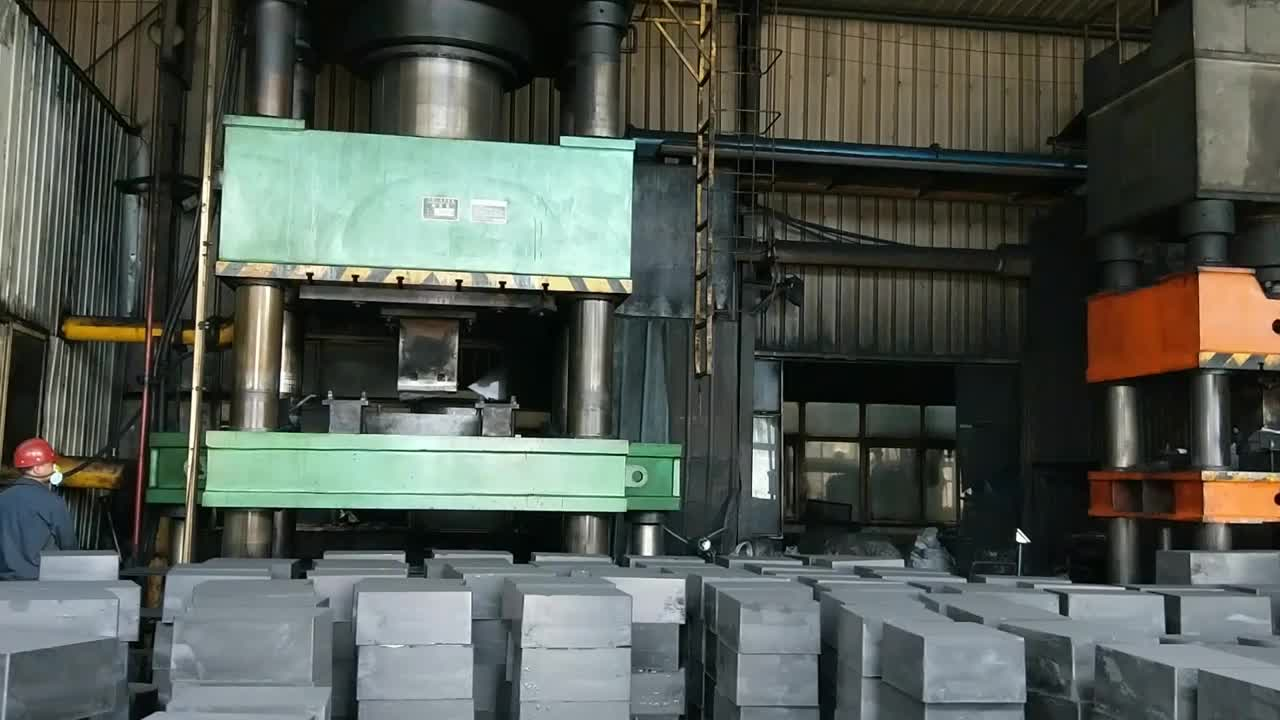 Extruded For Sale High Density Carbon Graphite Block