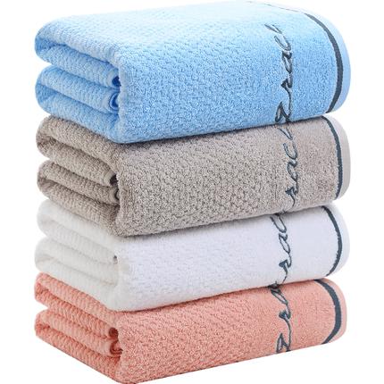 洁丽雅家用纯棉大号裹巾浴巾