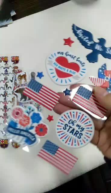 educational toys puffy custom foam sticker