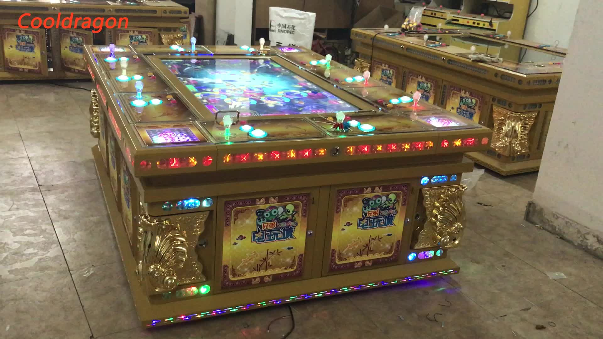 Ocean king 3 igs gambling video machine fish hunter games for Fish and game table