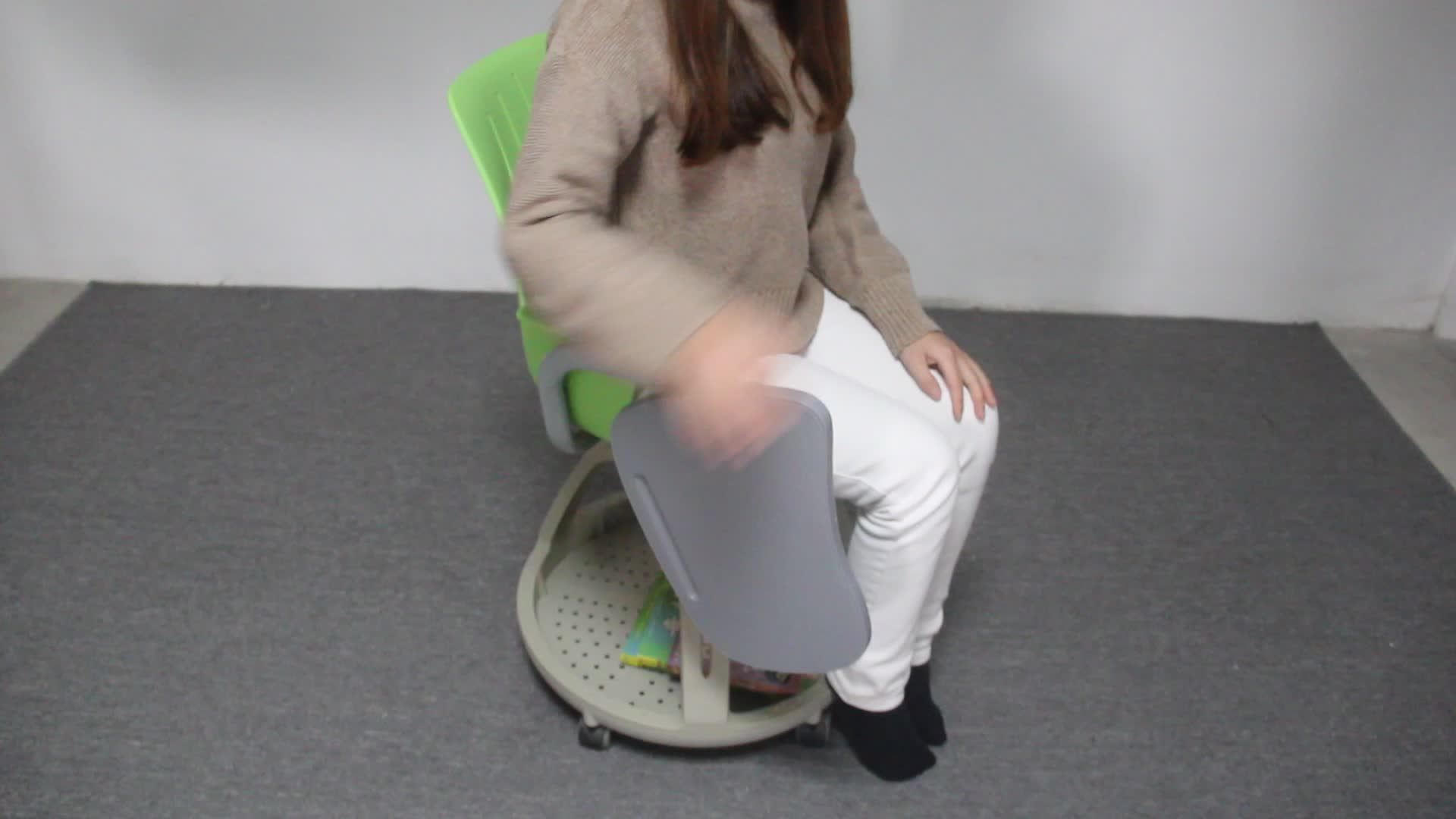 School China Node Chair With Casters Cheap Classroom College Chair