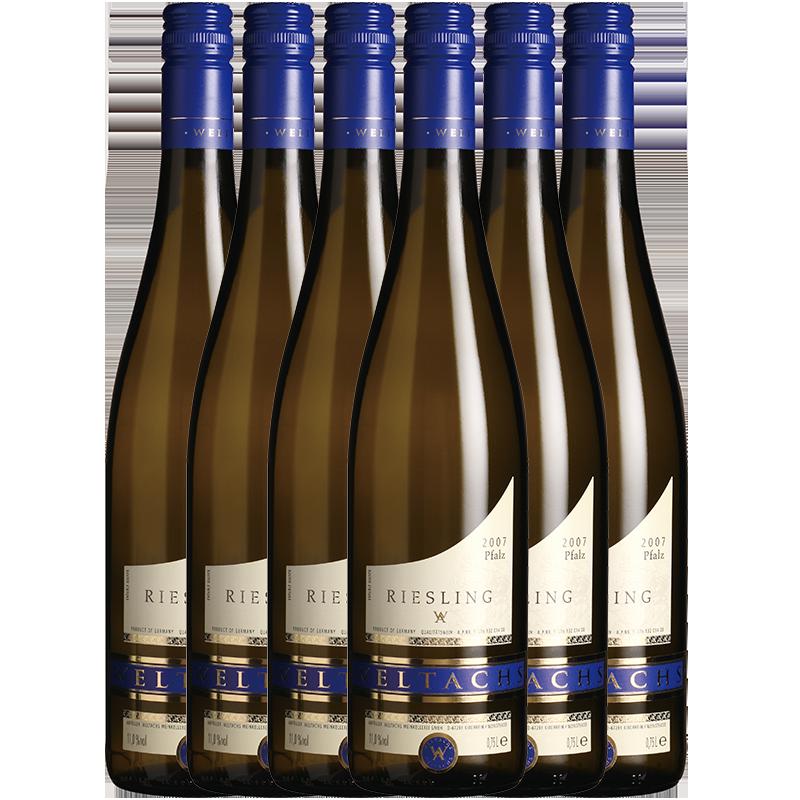富隆酒业 德国原瓶进口富隆维特思威士莲白葡萄酒750ml*6支装