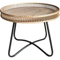 尚森铁艺原木圆形现代简约客厅边几质量怎么样