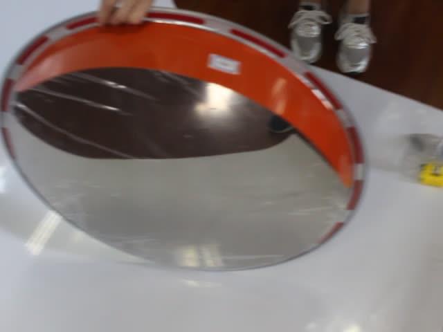Trafik Güvenliği 30cm -120cm paslanmaz çelik içbükey dışbükey ayna