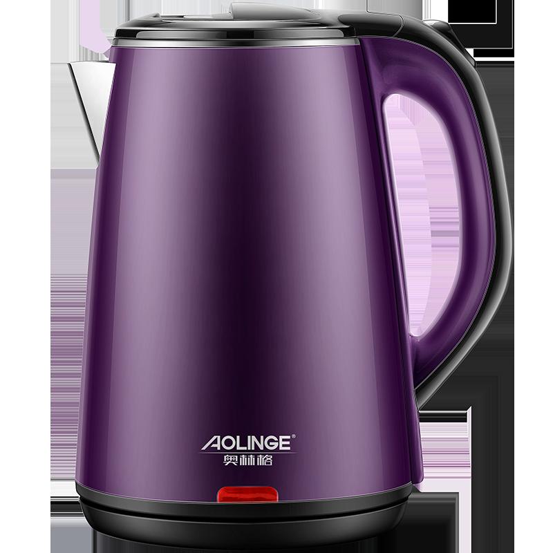 奥林格烧水壶家用保温一体全自动断电快壶小型煮煲器开水电热电壶