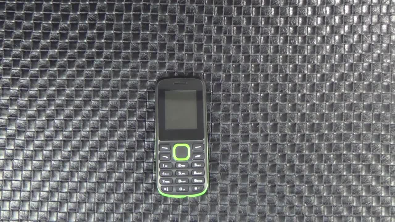 1.77inch OEM Feature Phone with Whatsapp Function Slim Keypad Mobile Phone