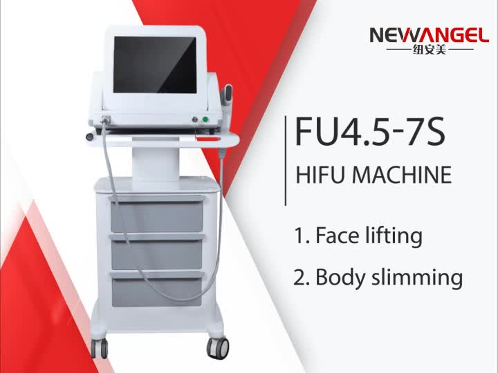 High intensity focused ultrasound hifu face lift hifu machine korea