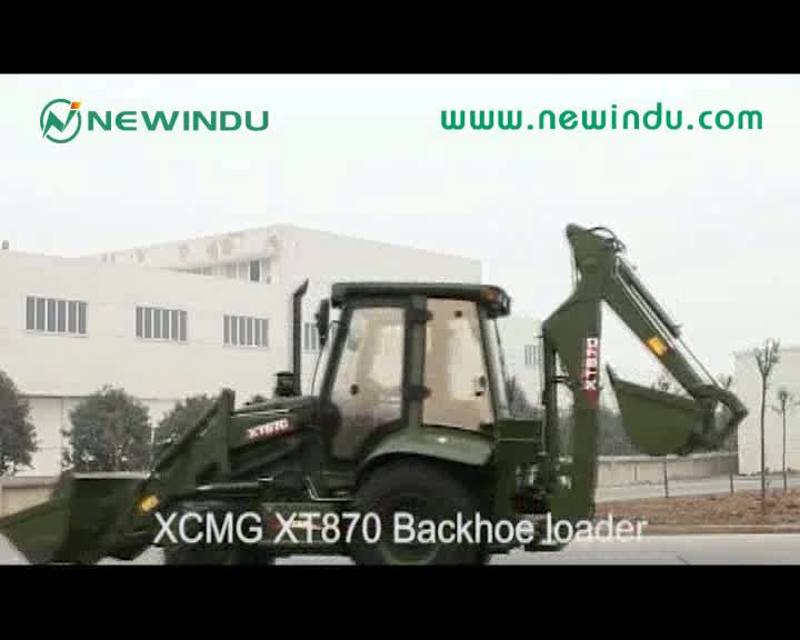 XCM  price new mini loader Backhoe XT870 stock for sale