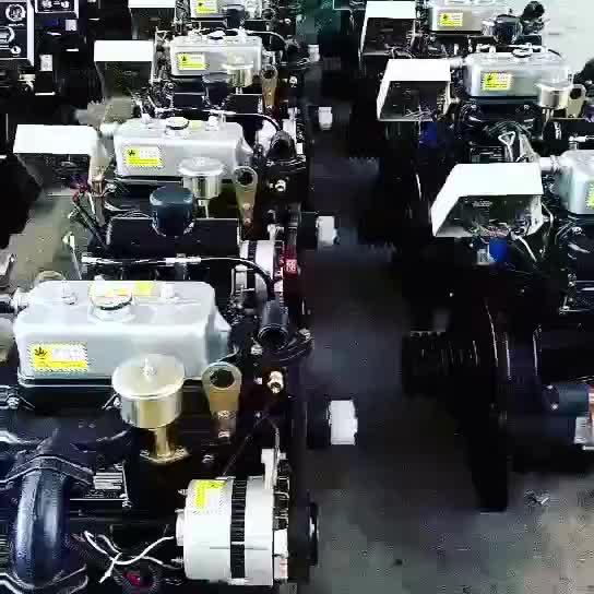 2 cilinder dieselmotor voor marine