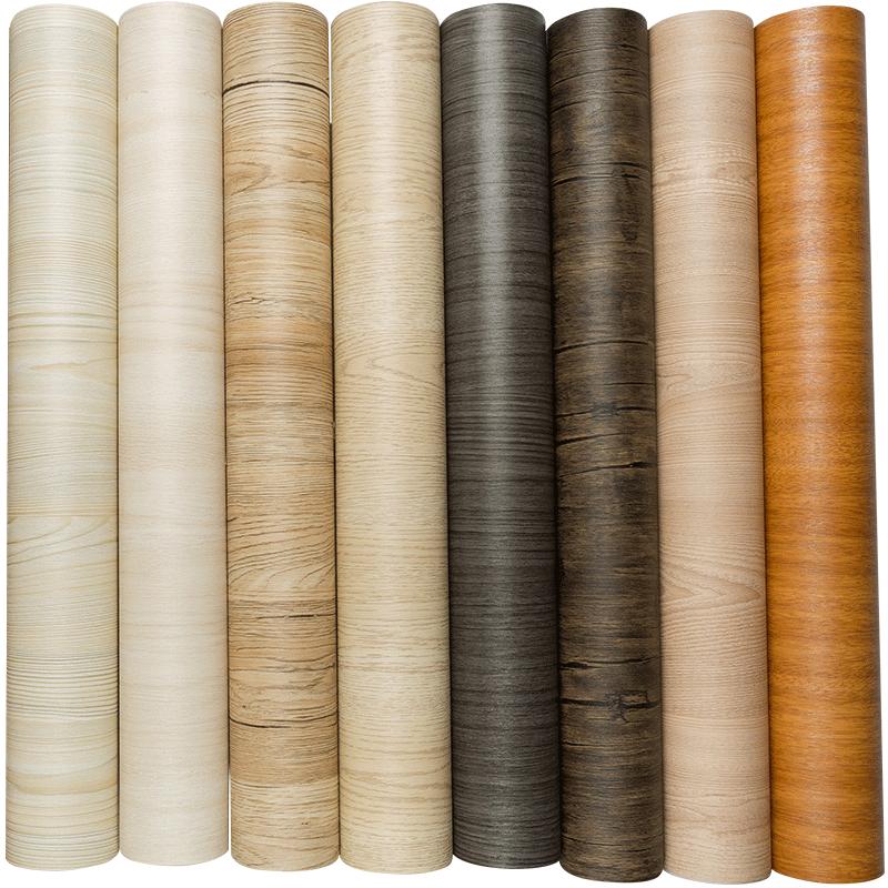 加厚自粘仿木门旧家具翻新木纹贴纸评价如何