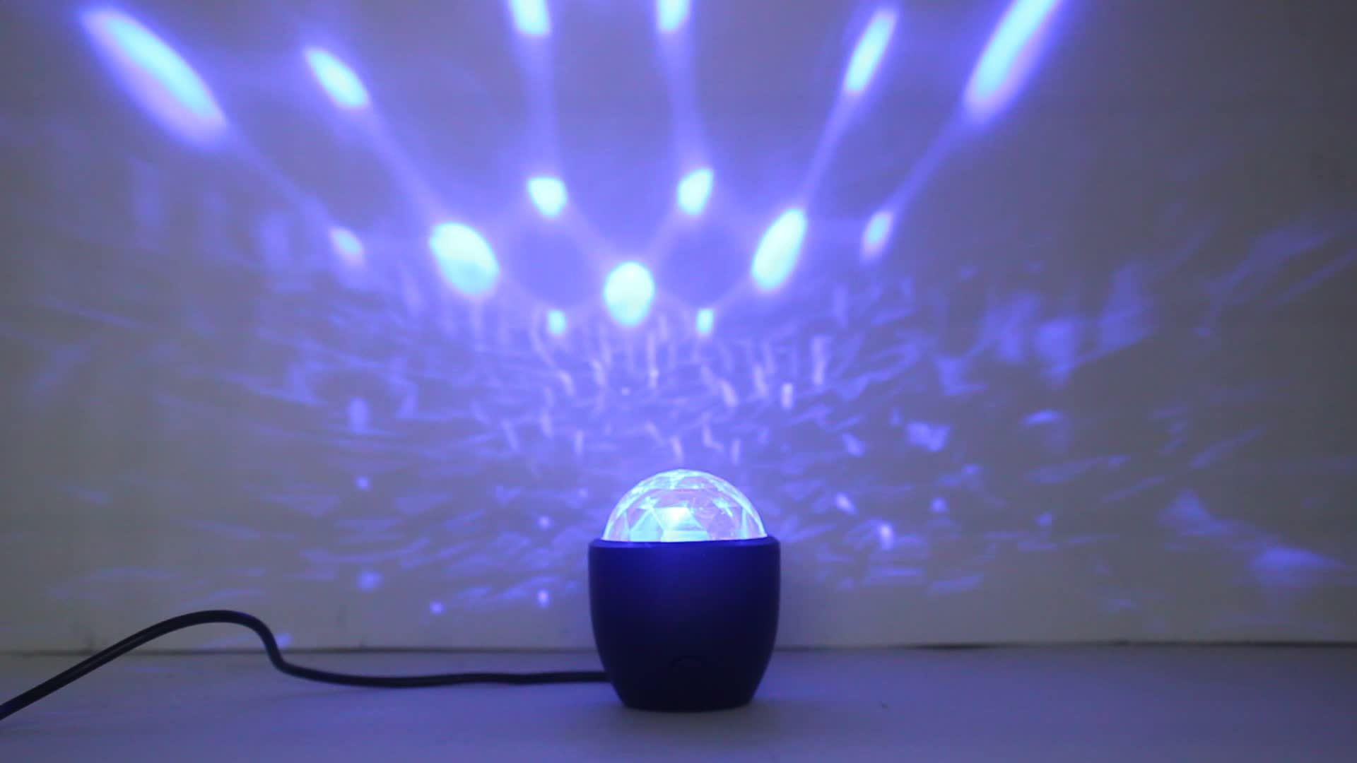 USB Powered Mini Sound Activated Disco Laser Light Ball