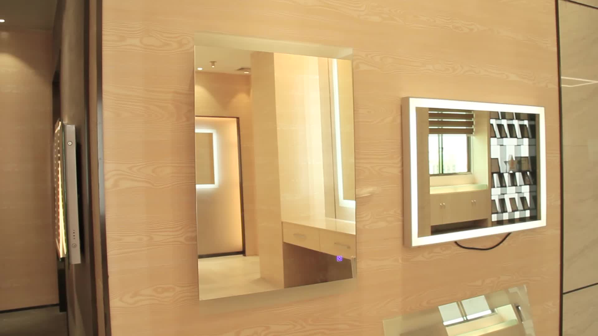 Modern Ip44 Rated Vanity With Led Light Hotel Project Best Selling ...
