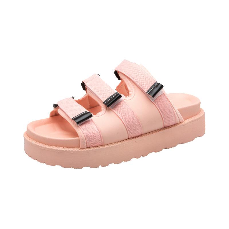 女2021新款韩版运动外穿松糕凉拖鞋评测参考