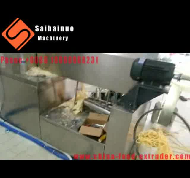 Professional manufacturer new type Italian pasta macaroni machine