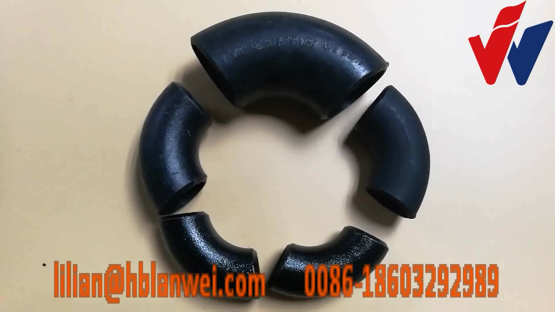 Carbon steel seamless butt-welded pipe fitting