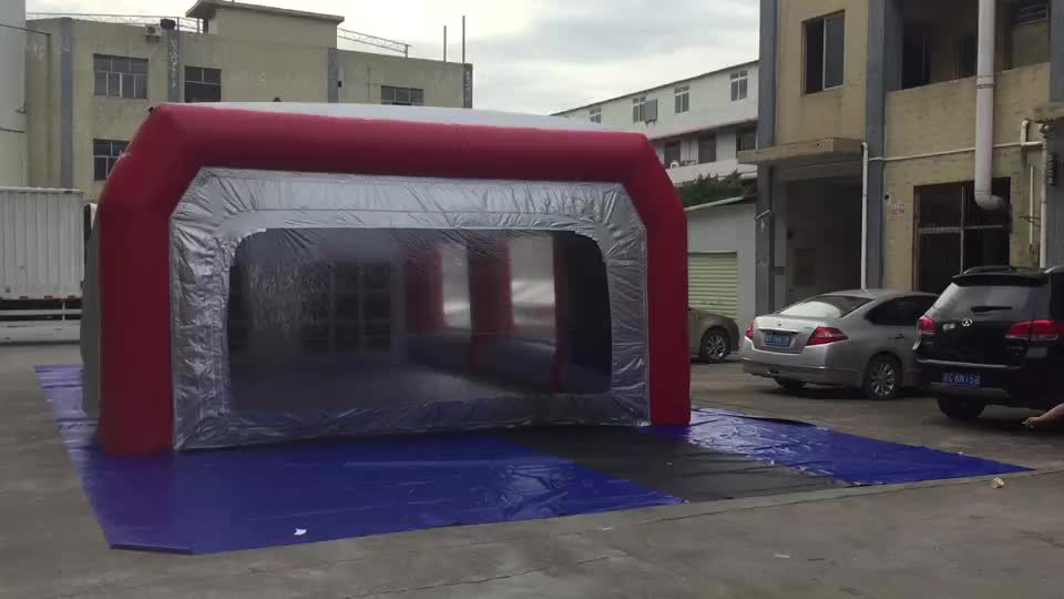 2019 Hot sale inflatable spray booth, portable inflatable paint booth for car maintaining