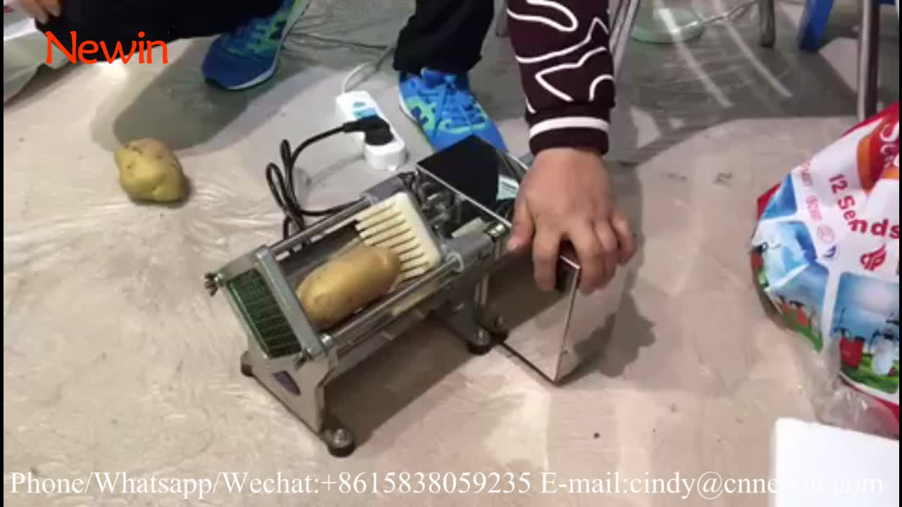 Commercial Stainless Steel Electric potato chip cutter