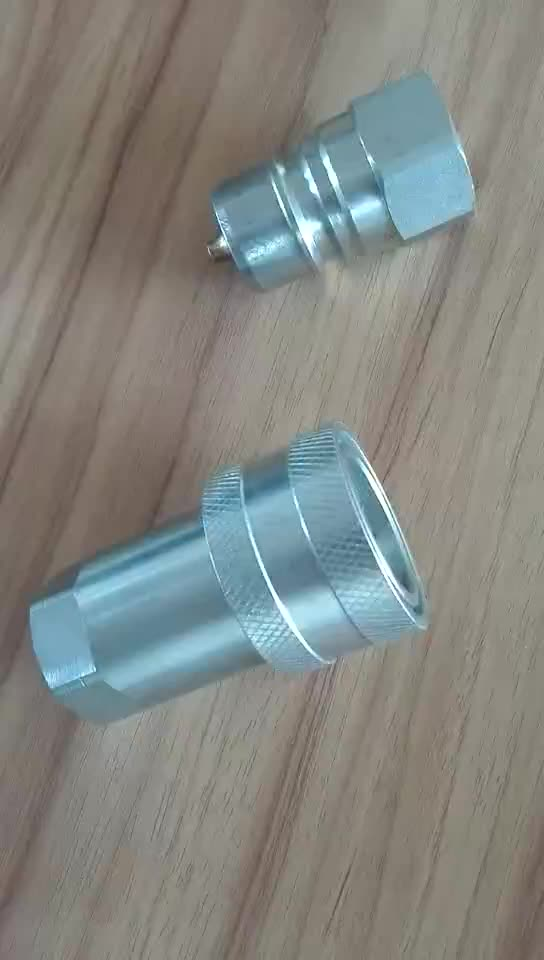 Iso 7241-1 Series A Half-for-half Fluid Transfer Hydraulic Quick Coupling