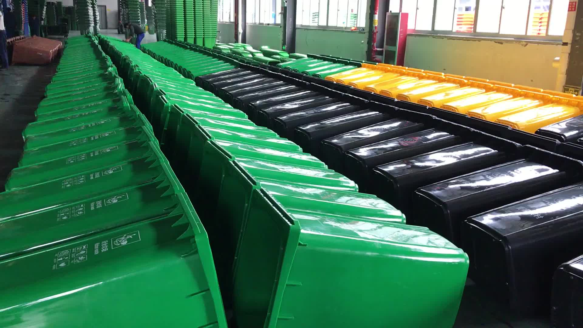 eco vriendelijke afvalbak kinderen speelgoed voorraadbak 60l vuilnisbak plastic