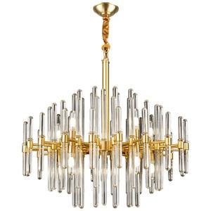 雷士照明全铜后现代轻奢水晶客厅灯