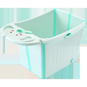 折叠大号家用可坐宝宝洗澡盆