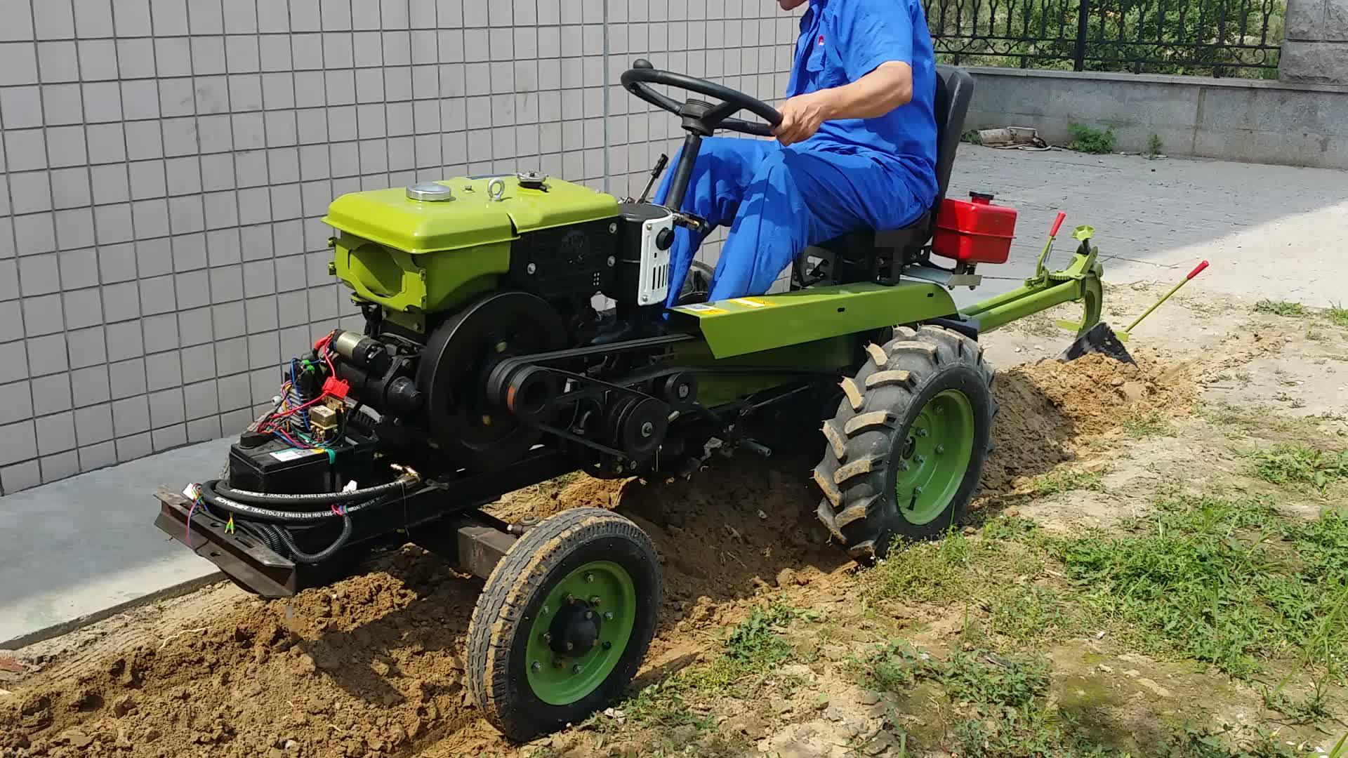 15hp Electric Start Multi Purpose Farm Mini Tractor For