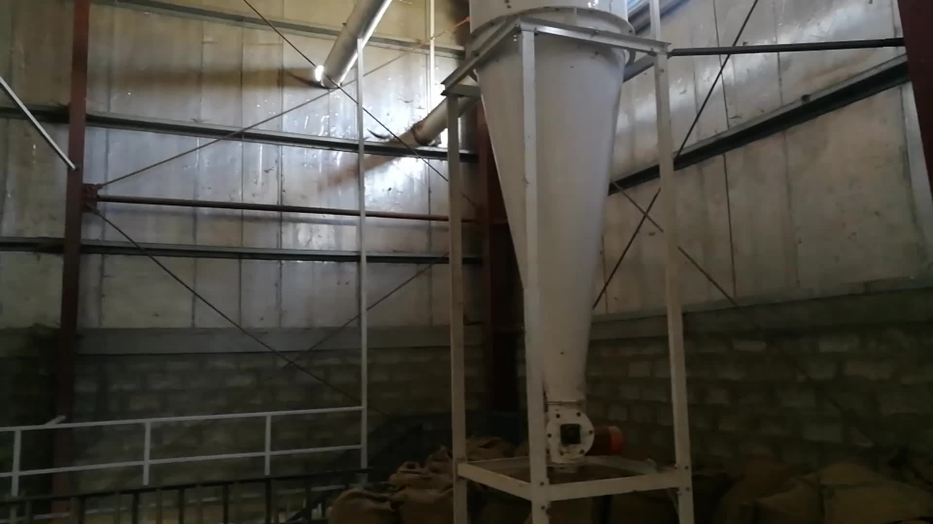 3-10 Tons Complete Coffee Beans Cleaning Line in Ethiopia