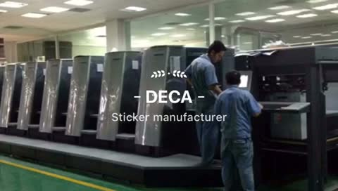 Cheap Price Custom OEM Die Cut Sticker Personalized Waterproof PVC Adhesive Brand Name Logo Sticker