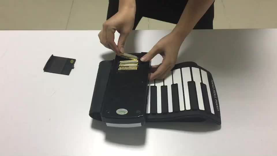 iWord Hot sell Promotion product Waterproof Roll up Electric piano keyboard