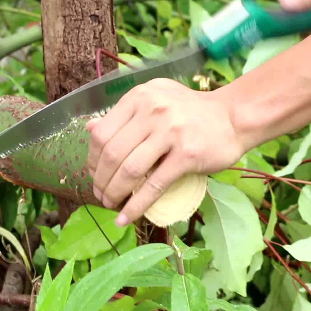 LAOA Popular Portable Pruning Folding Saw with 250mm blade,hand saw for gadernning