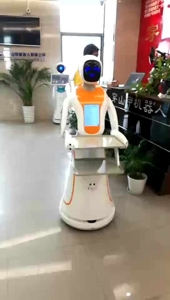 2018 new cloud platform programmable navigation robot