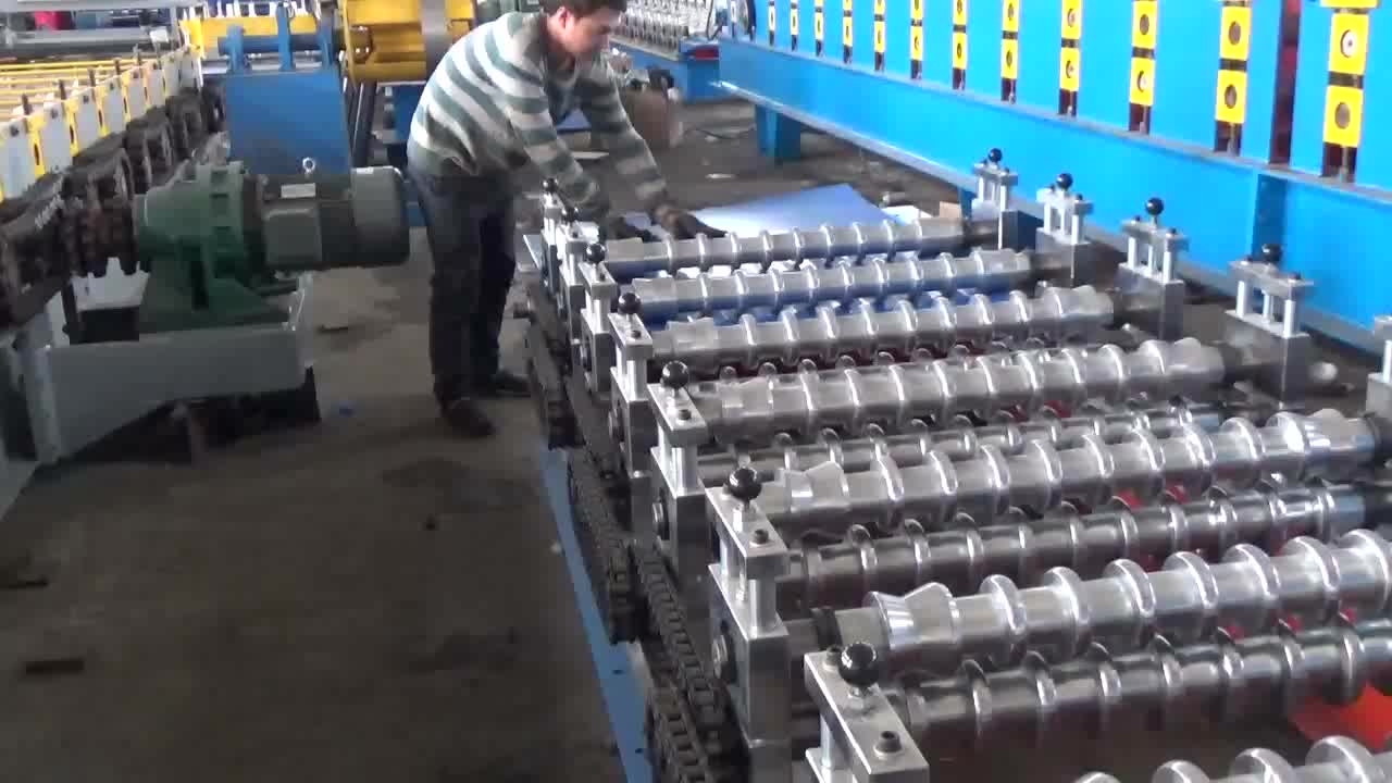 Colored Roof Steel tile Forming Machine,corrugated roof sheet making machine,Corrugated Iron Sheet Making Machine