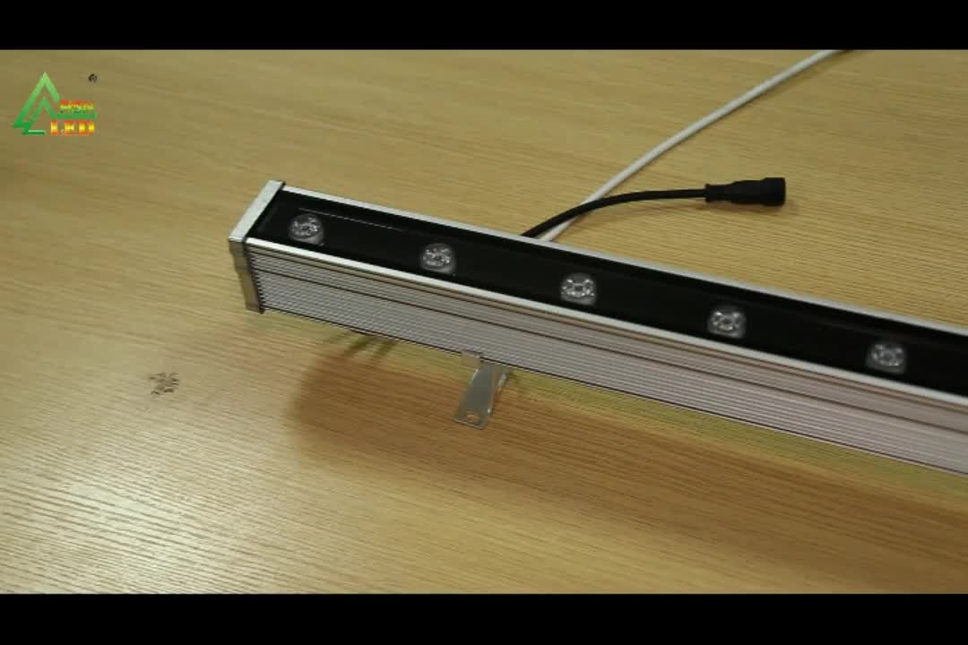 Get Free Sample Silver Aluminum Waterproof Outdoor Lights 24w Led Wall Linear Washer Light Bar