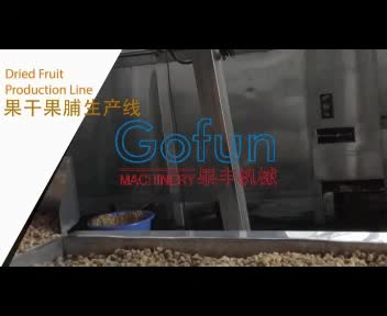 Dried and dehydrated fruits production line