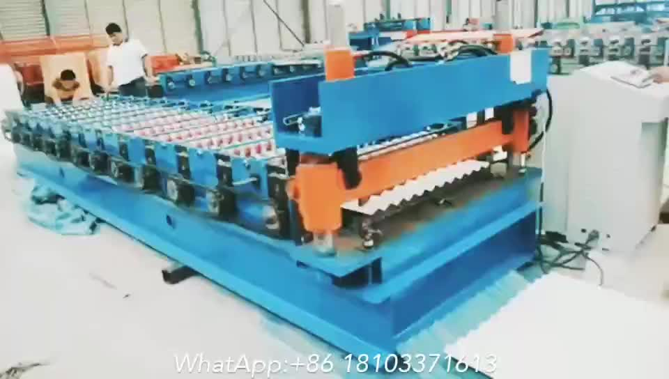 850 Corrugation Sheet Metal Roofing Rollforming Machinery